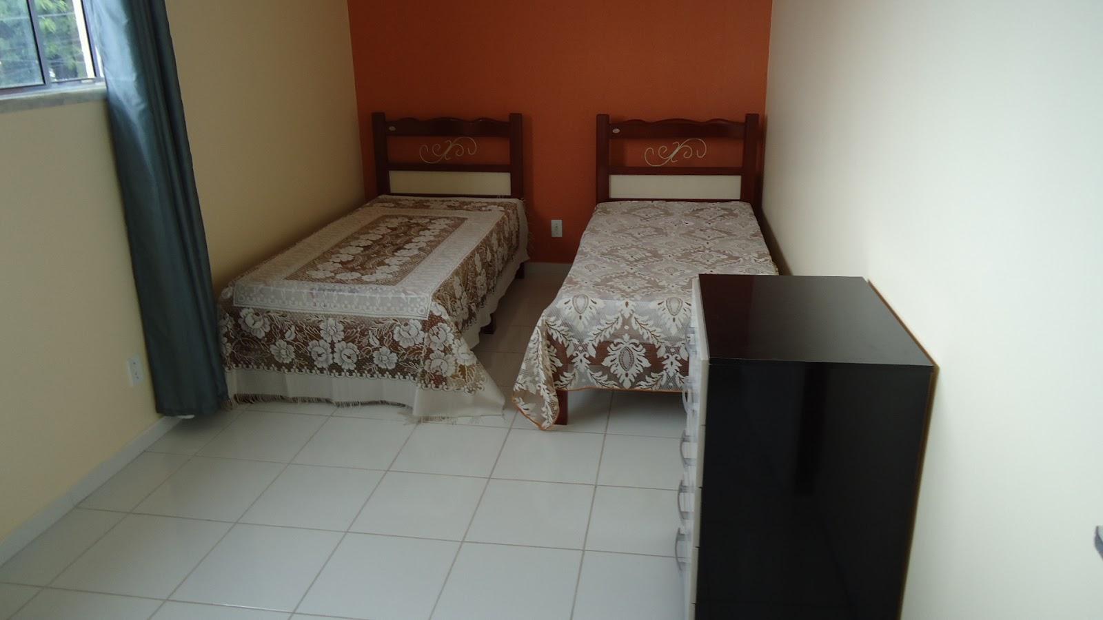 Foto de um dos quartos do pensionato Lar da Meninax (Fortaleza-CE)