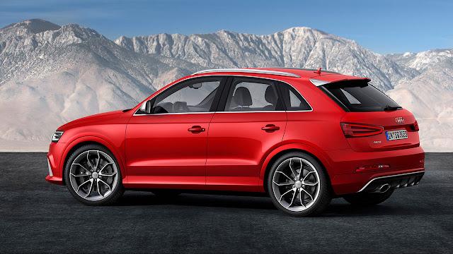 Audi RS Q Model side
