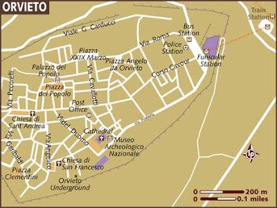 Mappa Politica di Orvieto