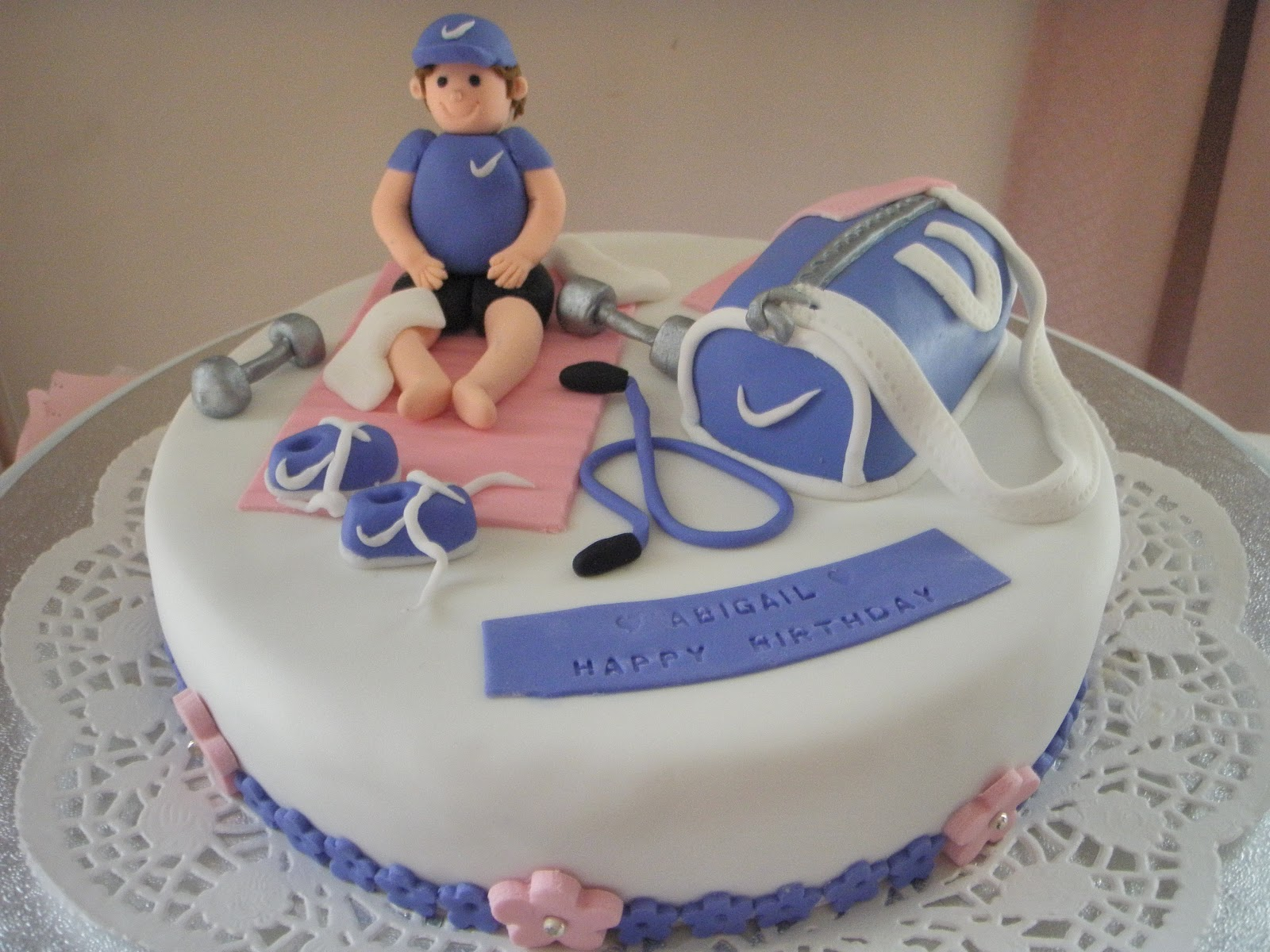 Cake Story By Jenty Fitness Themed Cake