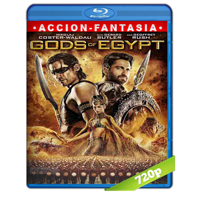 Dioses De Egipto (2016) BRRip 720p Audio Trial Latino-Castellano-Ingles 5.1
