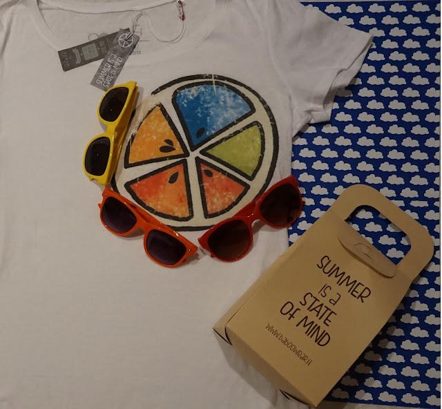 #bloggersummerbox bloggeritalia collaborazione baboo tshirt