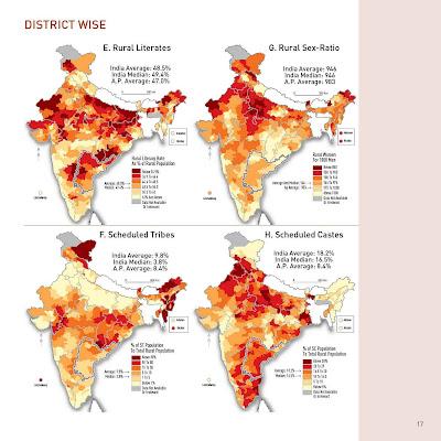 Rural Literates Rural Sex-Ratio Scheduled Tribes Scheduled Castes.