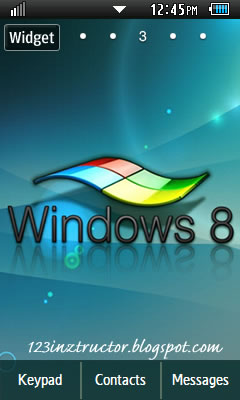 Samsung GT-C6712 Windows 8 Others Theme 3 Free Download Wallpaper