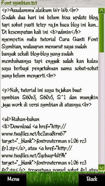 Font Melota Full 2013 Symbian