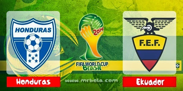 Prediksi Skor Honduras vs Ekuador 21 juni 2014, Piala Dunia