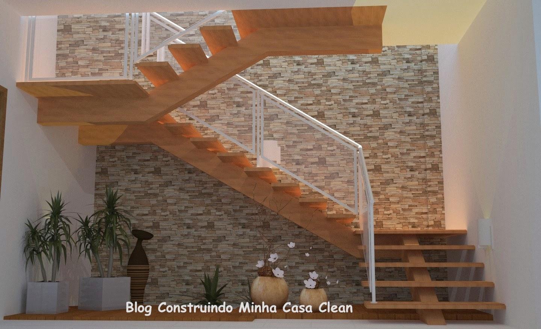 Construindo Minha Casa Clean: Paredes com Pedras!!! Canjiquinha  #9B5730 1440 875