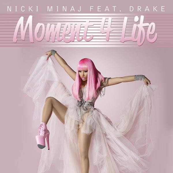 """Résultat de recherche d'images pour """"nicki minaj moment 4 life single cover"""""""