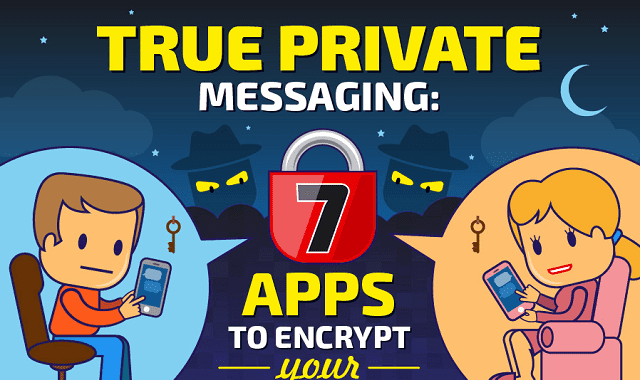 Infographic Ideas infographic messaging apps : True Private Messaging: 7 Apps to Encrypt Your Chats #infographic ...