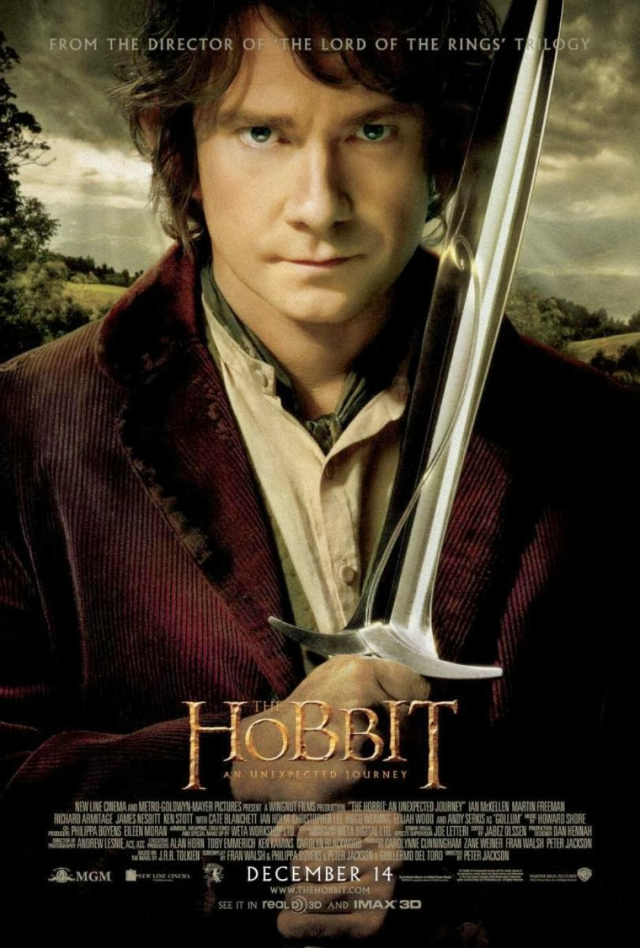 afiche pelicula hobbit aventura