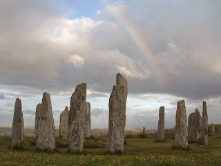 menhirs is alone standing stones installed in areas of maximum infrasound signal