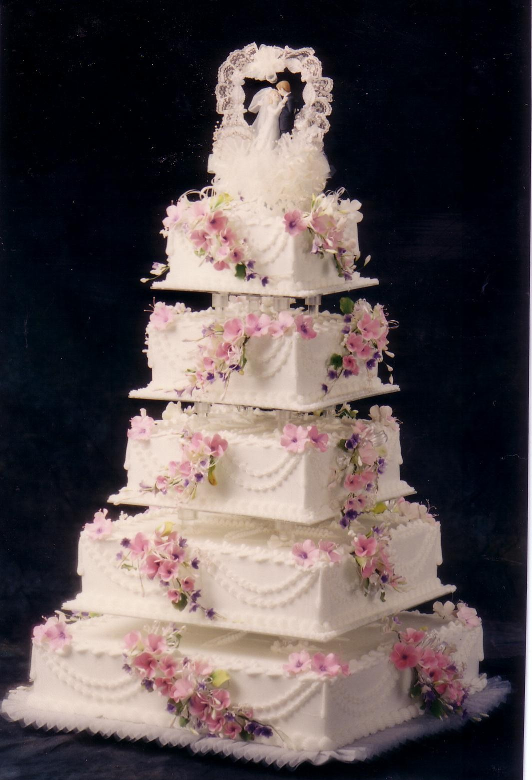 Wedding Cakes Decorations