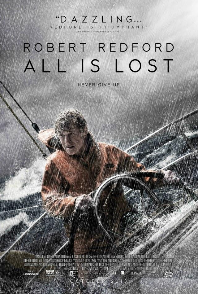 La película All Is Lost ( Cuando todo está perdido )