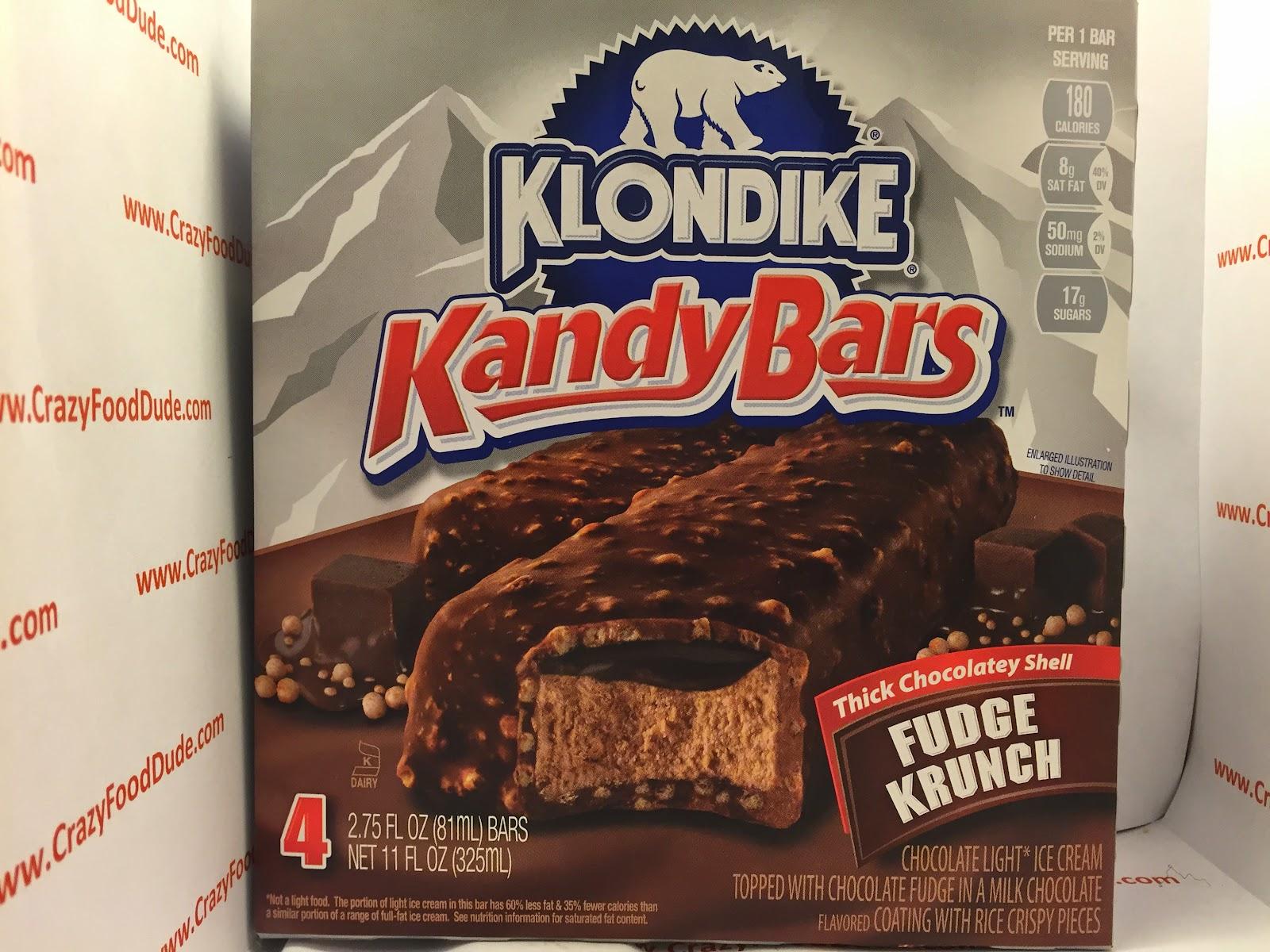Ingredients in meta health bars - Review Klondike Kandy Fudge Krunch Ice Cream Bars
