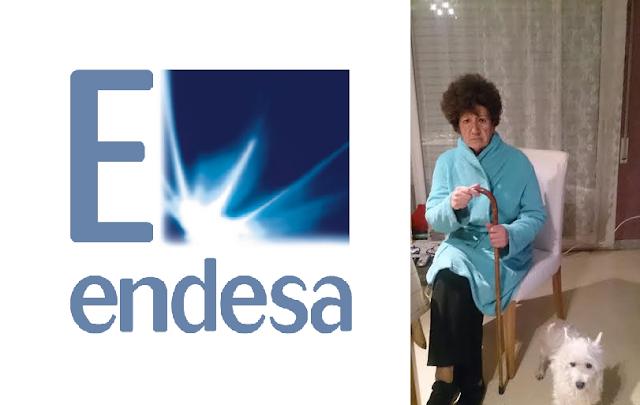 Endesa corta suministro eléctrico a anciana de 83 años con serios problemas de salud