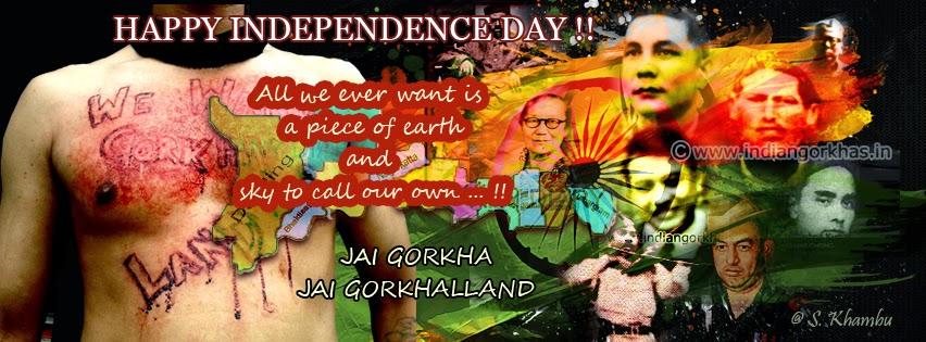 Happy independence Day to all , Jai Gorkha, Jai Hind
