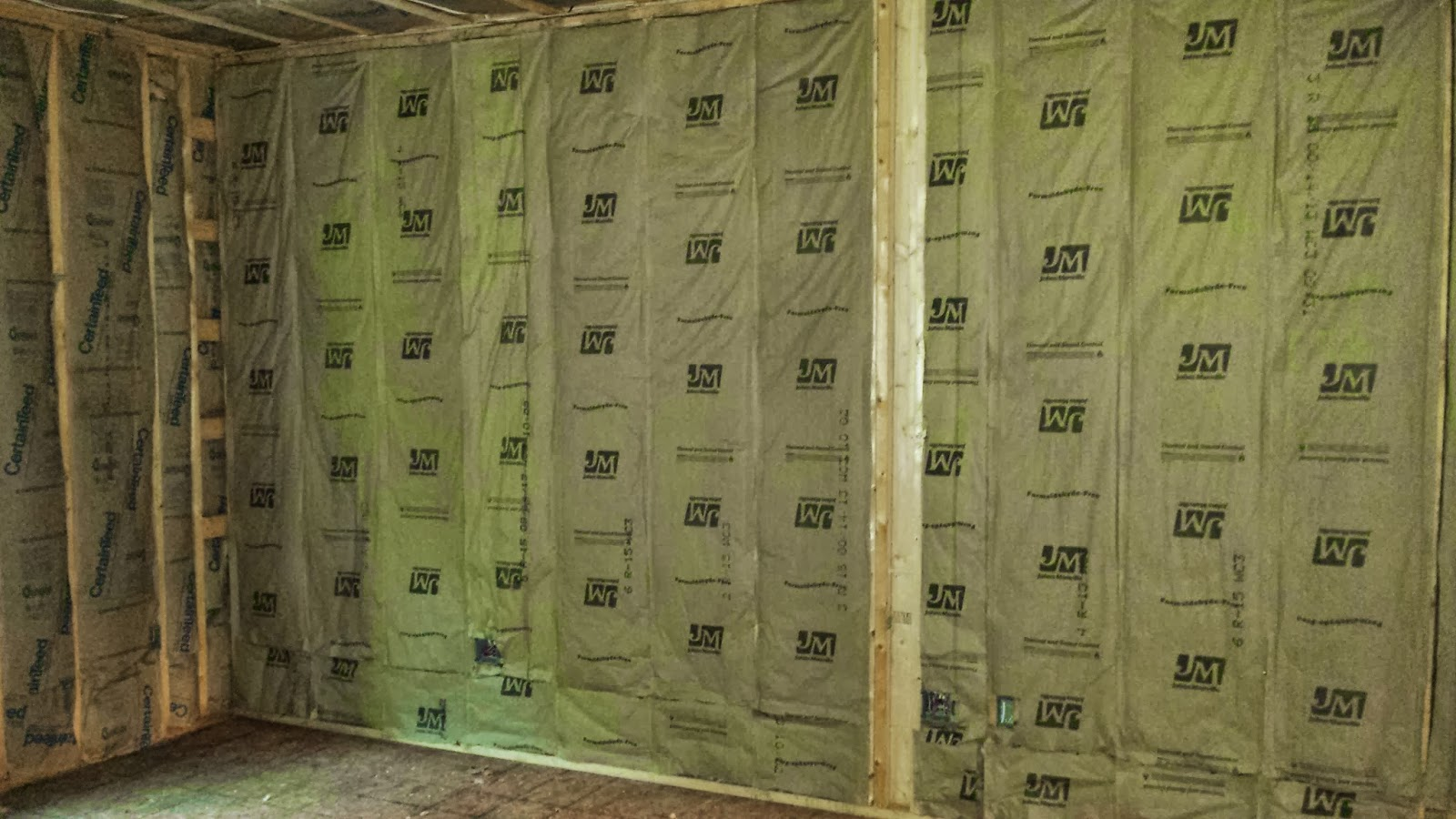 The Impatient Home Builder Wrapping Up The Insulation