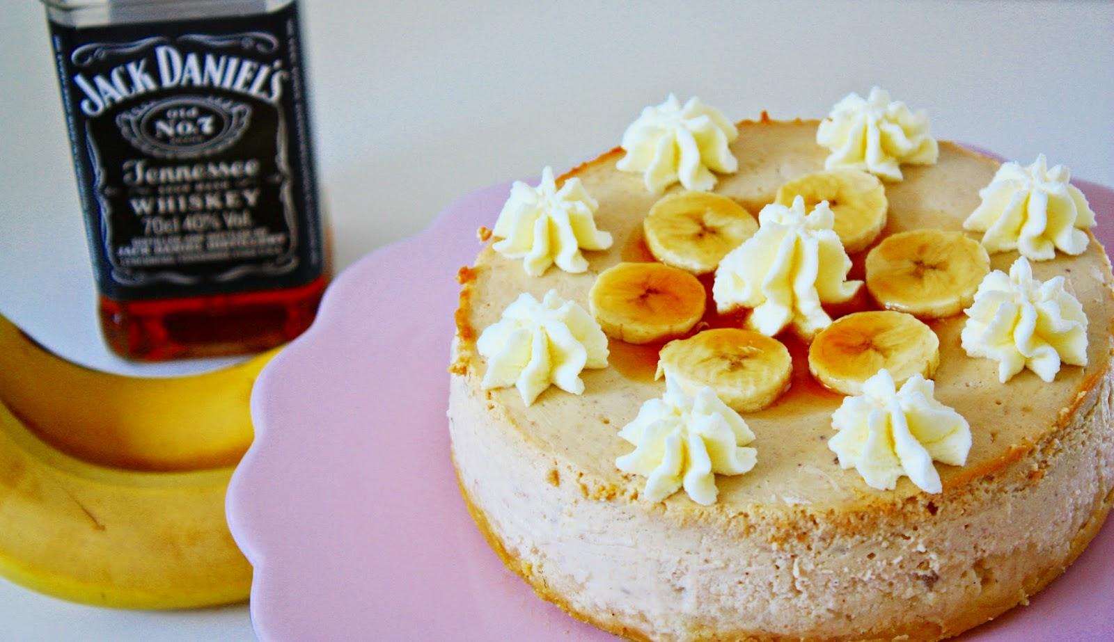 Banana Bourbon Cheesecake