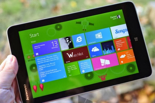1080p Windows 8.1 Tablet Nailing What Windows 8.1