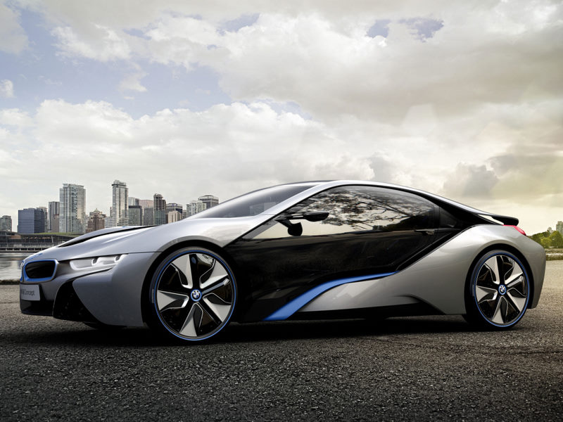 BMW i8 Car Series 3D Wallpapers