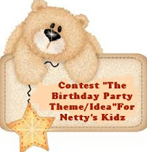 "Contest ""The Best Birthday Party Theme/Idea"" For Netty's Kidz"