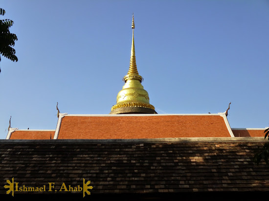 Chedi in Lampang, Thailand