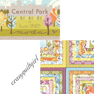 Moda CENTRAL PARK Quilt Fabric by Kate Spain