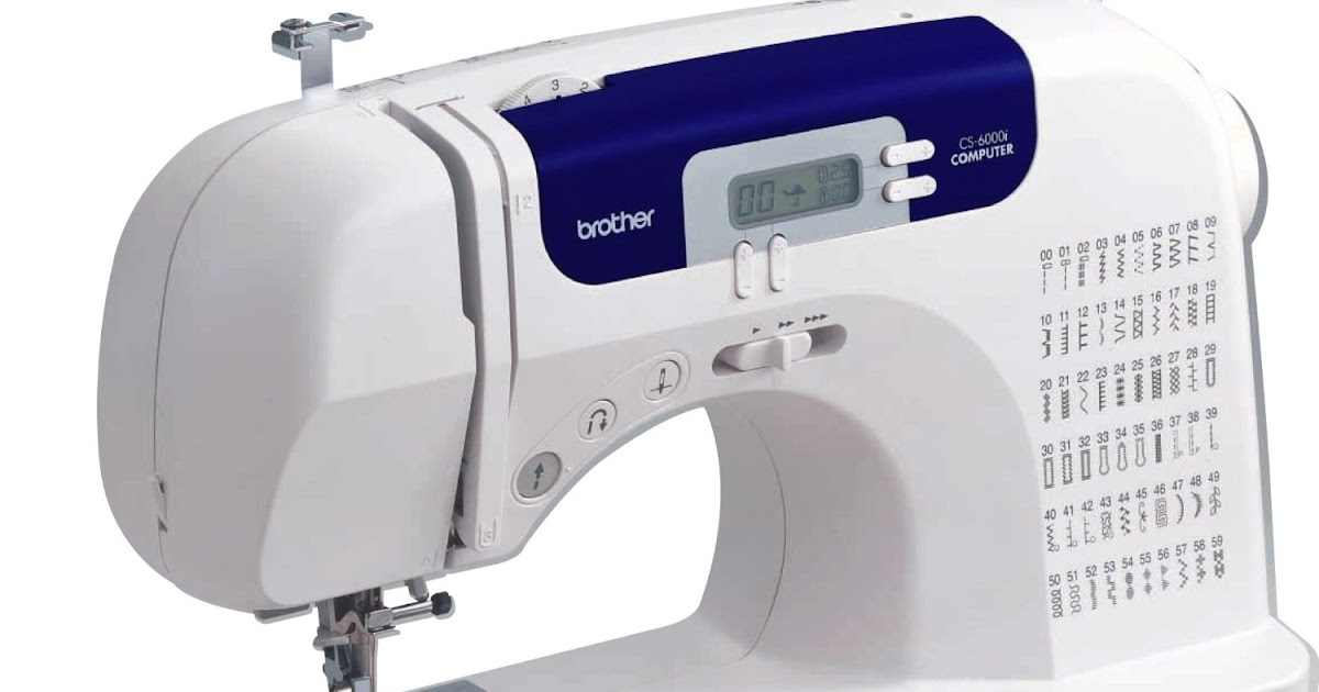 sewing machine cs6000i manual