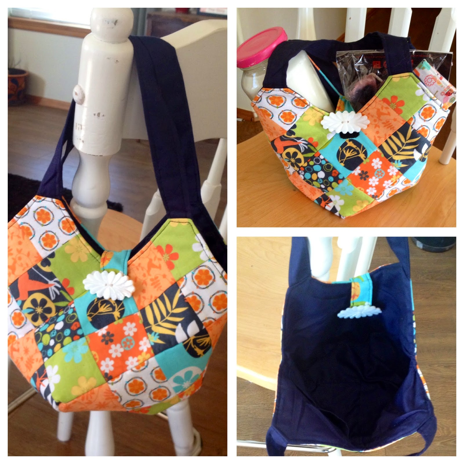 Quiltsmart Bitty Bag with Straps