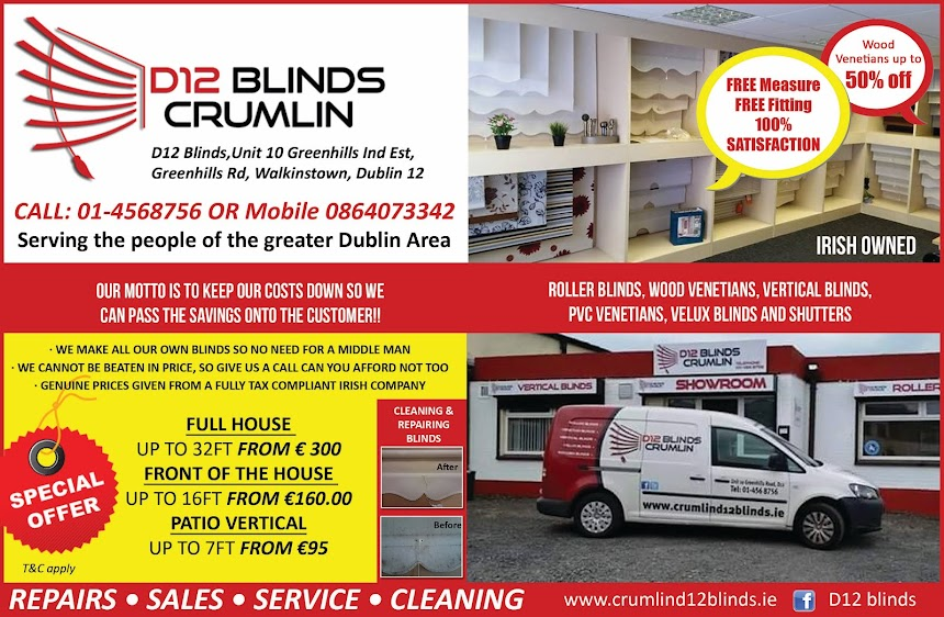 Blinds in crumlin,Tallaght,Walkinstown,Clondalkin