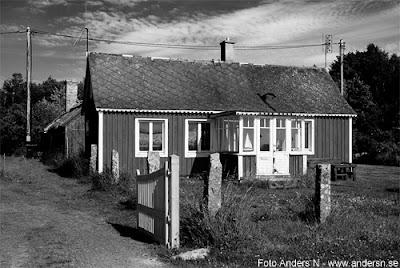 torsö, listerlandet, blekinge, sölvesborg, gammalt hus, fiskeläge, foto anders n