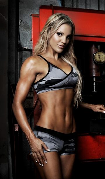 Sarah Allen - Hottest Fitness Women
