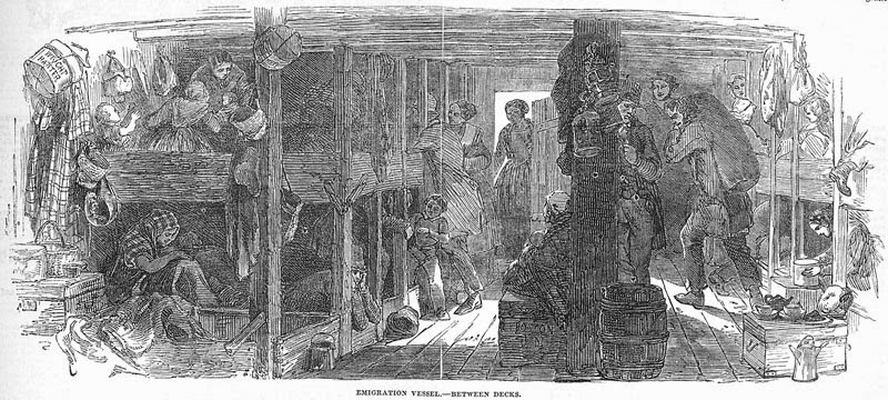 Climbing My Family Tree: Steerage Travel in mid-19th Century