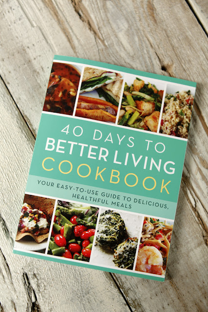 5 Quick Questions with Carolyn Nichols of The Church Health Center + The 40 Days to Better Living Cookbook