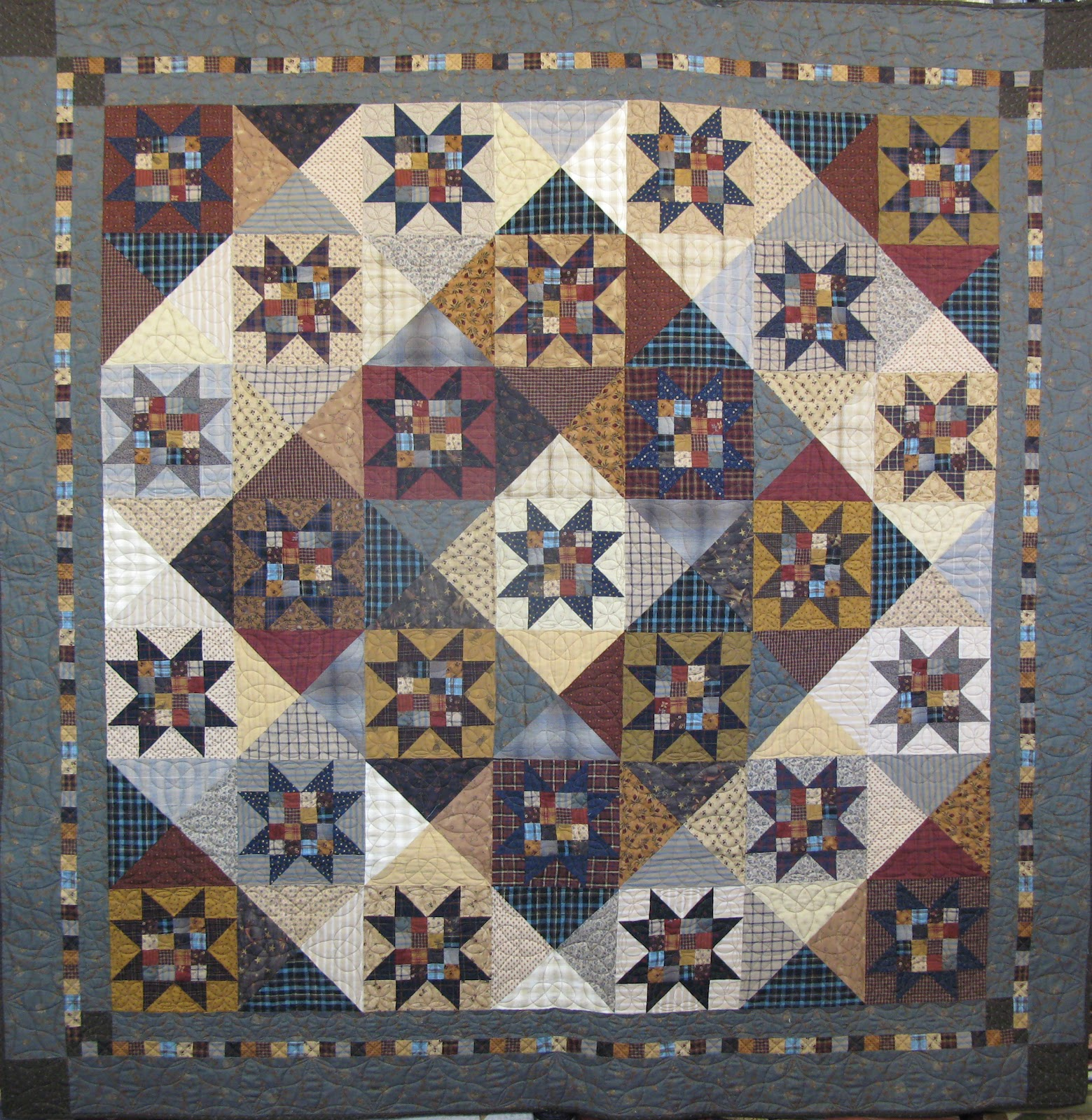 continually crazy At Home with Country Quilts