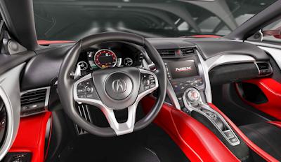 2016 Acura NSX Release Date Interior