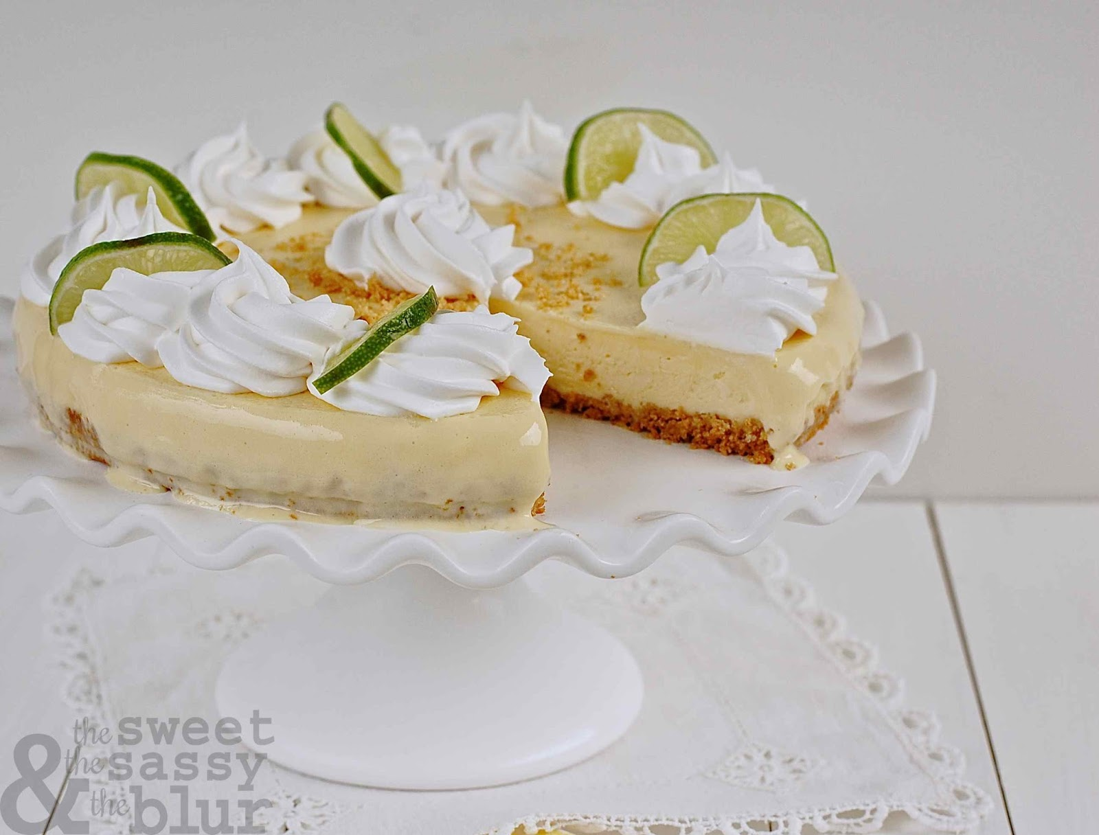 The Sweet, The Sassy and The Blur: Ina's Frozen Key Lime Pie