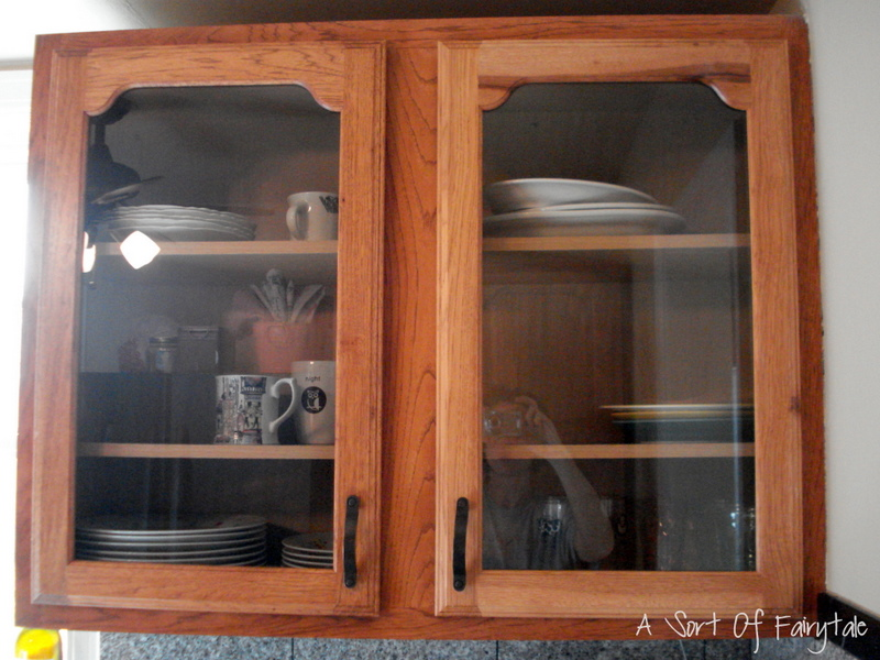 Kitchens Glass Front Cabinets Simplified Bee Doors Glass Kitchen