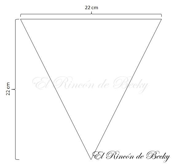 El Rincon de Becky: Tutorial DIY: Banderín CandyBar