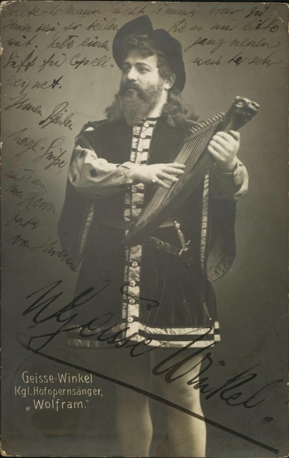 GREAT GERMAN BARITONE NICOLA GEISSE-WINKEL (1872 - 1932) CD