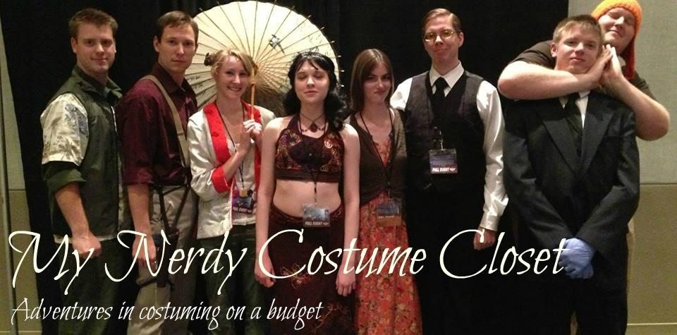My Nerdy Costume Closet