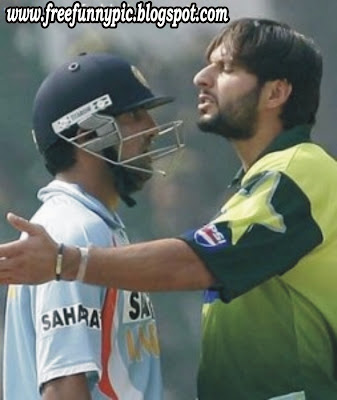 Boom Boom Afridi Pakistan-vs-India