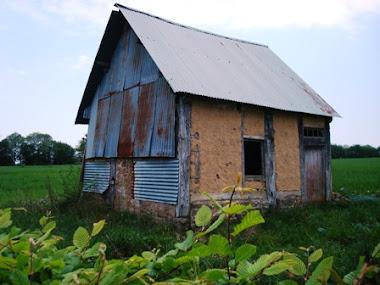 Maison en torchis