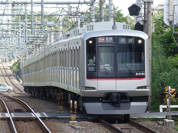 東京メトロ有楽町線 西武線直通 各停 所沢行き1 東急5050系