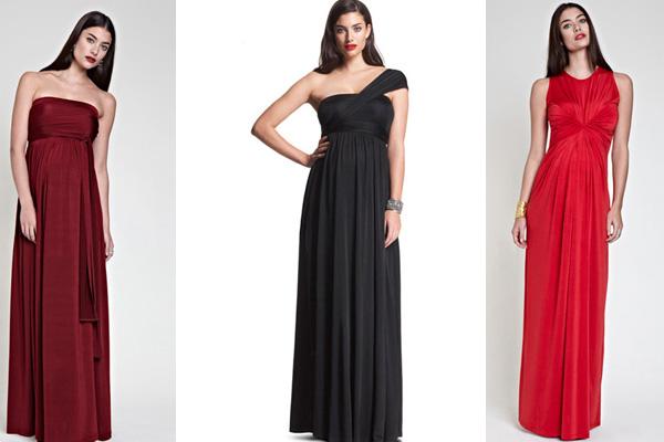 أزياء أنيقة للحوامل 2013 - فساتين حوامل 2013