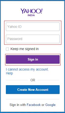Yahoo Mail Login My Account - Information