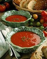 Sopa de Tomate e Pimentão (vegana)