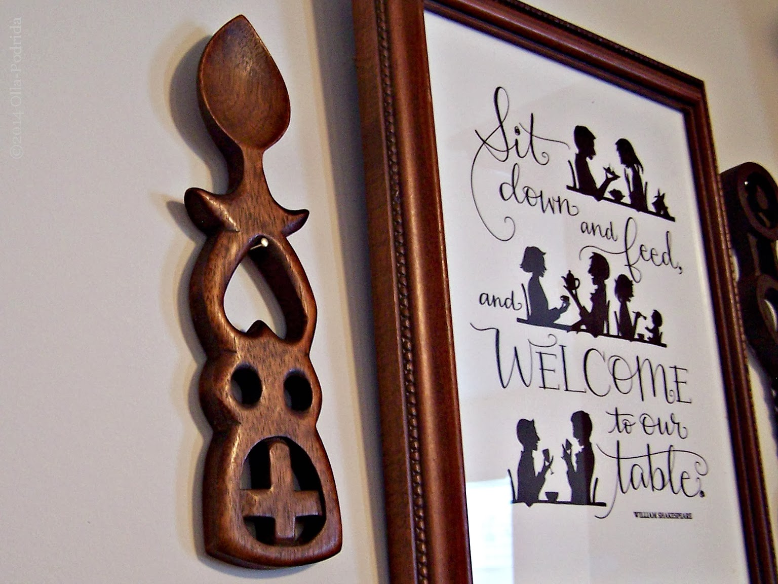 welsh love spoons & a decorating dilemma