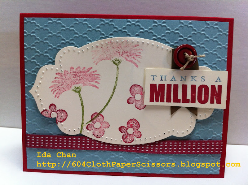 Reason to Simle card by Ida Chan Stampin' Up! Vancouver title=