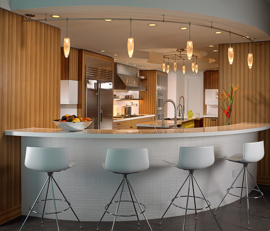 Modern and Elegant Bar Design 2015 with Lighting Styles ...